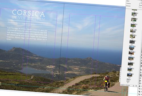 Artikel Corsica in de maak