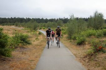Gravel group ride