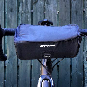 Review B'TWIN 300 Handlebar bag (100)